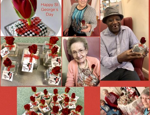 Happy St George's Day from all our lovely Residents and Staff